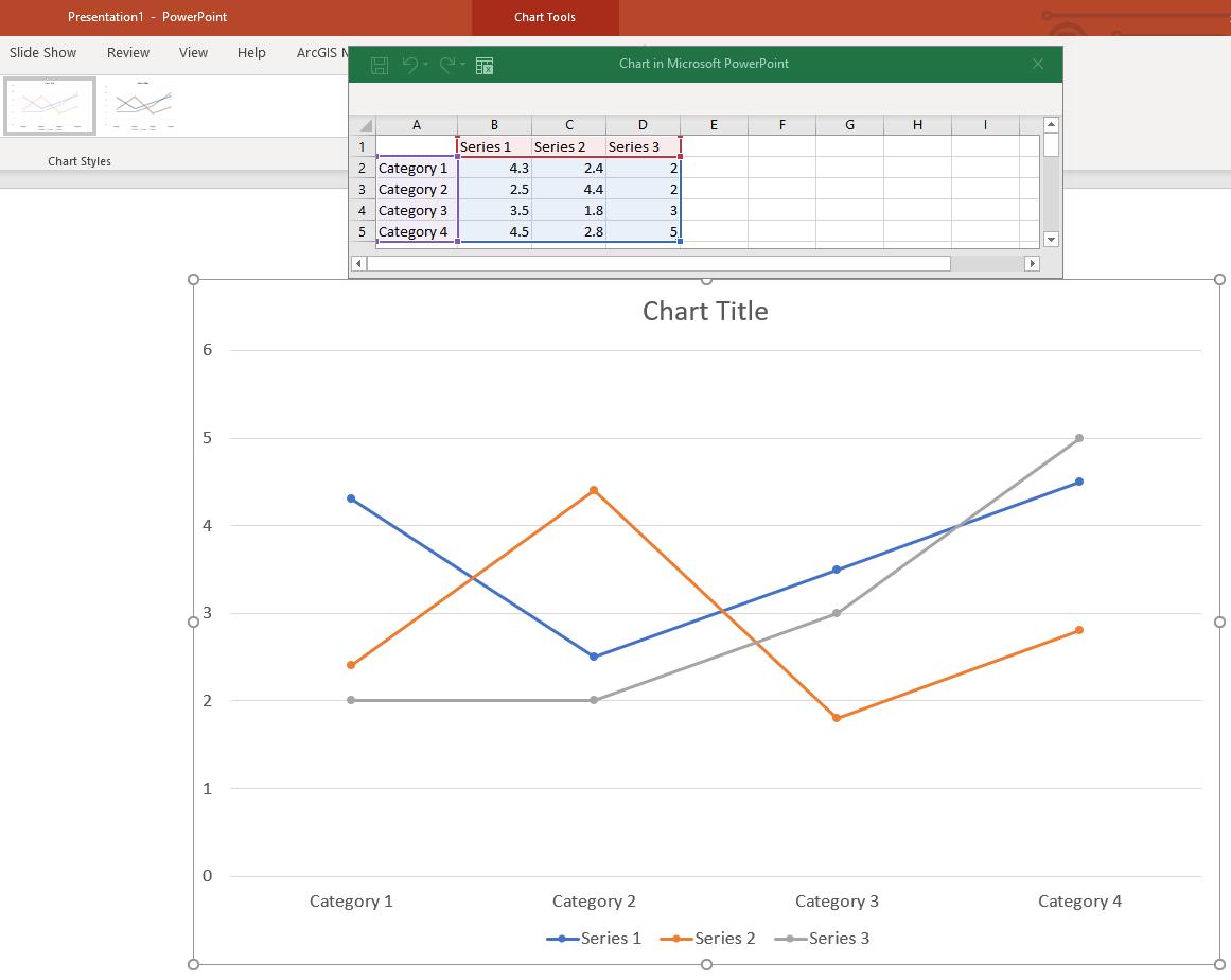 Default Line Graph